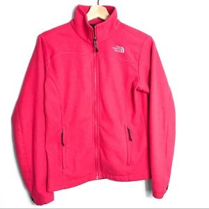 The North Face Womens Pink Fleece Jacket Z…